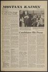 Montana Kaimin, October 12, 1960