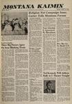 Montana Kaimin, October 18, 1960