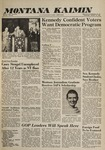 Montana Kaimin, October 19, 1960