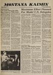 Montana Kaimin, October 20, 1960