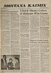 Montana Kaimin, October 25, 1960