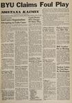 Montana Kaimin, October 26, 1960