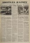 Montana Kaimin, October 28, 1960