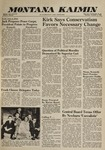 Montana Kaimin, November 3, 1960