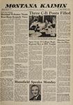 Montana Kaimin, November 4, 1960