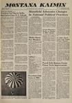 Montana Kaimin, November 8, 1960