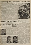 Montana Kaimin, November 9, 1960