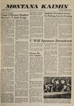 Montana Kaimin, November 10, 1960