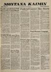 Montana Kaimin, November 17, 1960