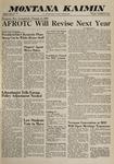 Montana Kaimin, November 22, 1960