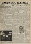 Montana Kaimin, November 29, 1960