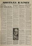 Montana Kaimin, November 30, 1960