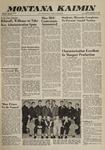 Montana Kaimin, December 2, 1960