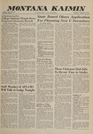 Montana Kaimin, January 19, 1961