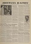 Montana Kaimin, January 20, 1961