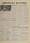 Montana Kaimin, January 31, 1961