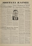 Montana Kaimin, February 9, 1961
