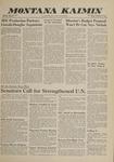 Montana Kaimin, February 17, 1961