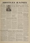 Montana Kaimin, February 21, 1961