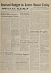 Montana Kaimin, February 28, 1961
