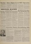 Montana Kaimin, March 1, 1961