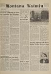 Montana Kaimin, April 4, 1961