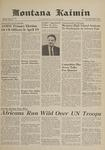 Montana Kaimin, April 5, 1961