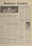 Montana Kaimin, April 7, 1961