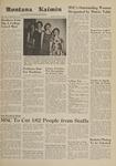 Montana Kaimin, April 11, 1961