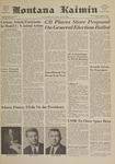 Montana Kaimin, April 14, 1961
