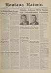 Montana Kaimin, April 20, 1961