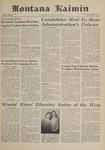 Montana Kaimin, April 21, 1961