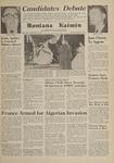 Montana Kaimin, April 25, 1961