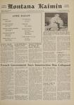 Montana Kaimin, April 26, 1961