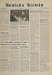 Montana Kaimin, May 3, 1961
