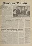 Montana Kaimin, May 10, 1961