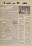 Montana Kaimin, May 11, 1961
