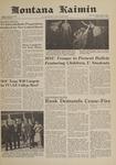 Montana Kaimin, May 12, 1961