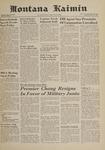 Montana Kaimin, May 18, 1961
