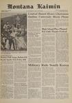 Montana Kaimin, May 19, 1961