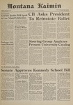 Montana Kaimin, May 26, 1961