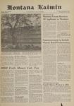 Montana Kaimin, May 31, 1961