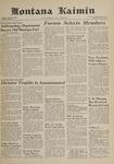 Montana Kaimin, June 1, 1961