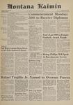 Montana Kaimin, June 2, 1961
