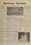 Montana Kaimin, September 27, 1961