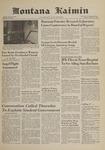 Montana Kaimin, October 10, 1961