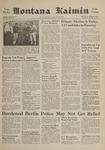Montana Kaimin, October 11, 1961