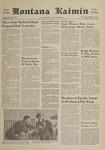 Montana Kaimin, October 17, 1961