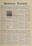 Montana Kaimin, October 18, 1961