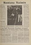 Montana Kaimin, October 20, 1961